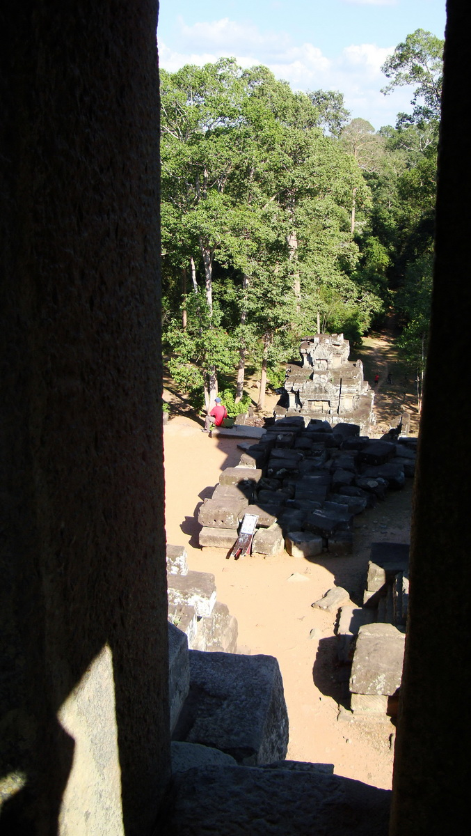 Ta Keo Temple mountain central tower eastern entrance Angkor 01