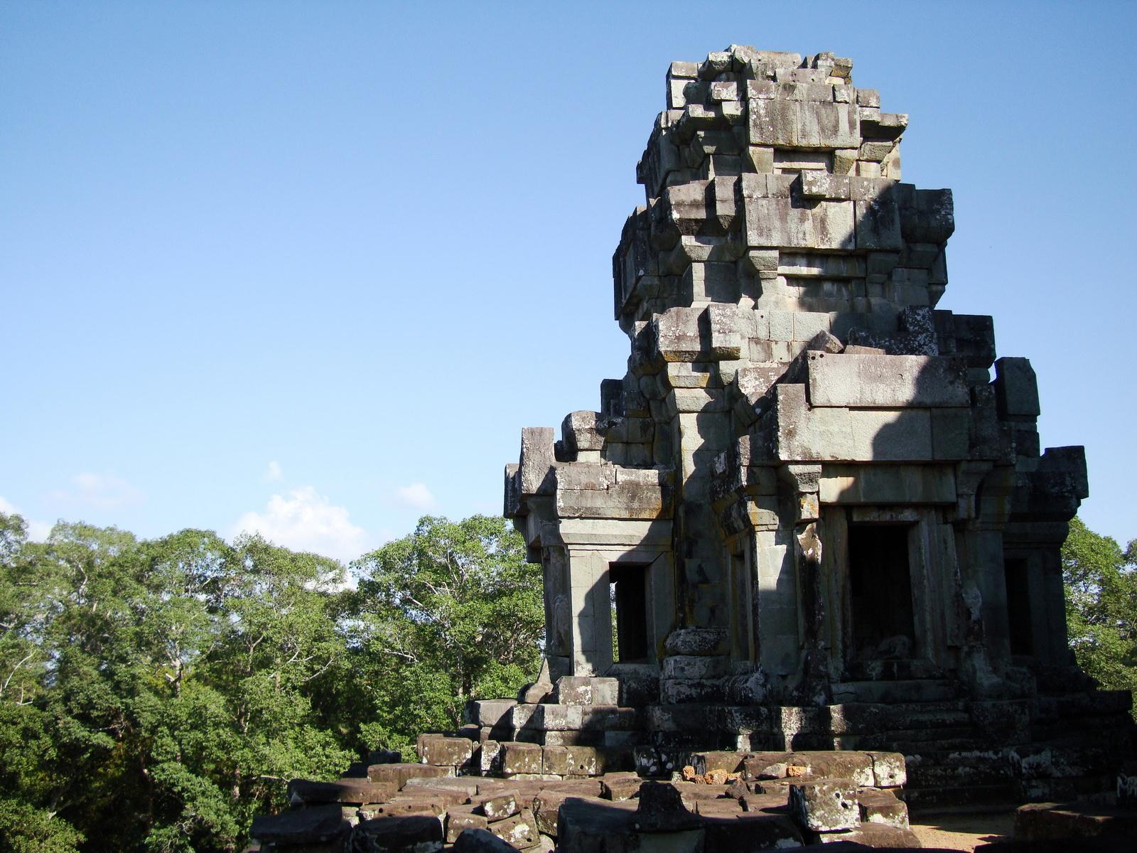 Ta Keo Temple mountain upper terrace facing NE tower Angkor 01