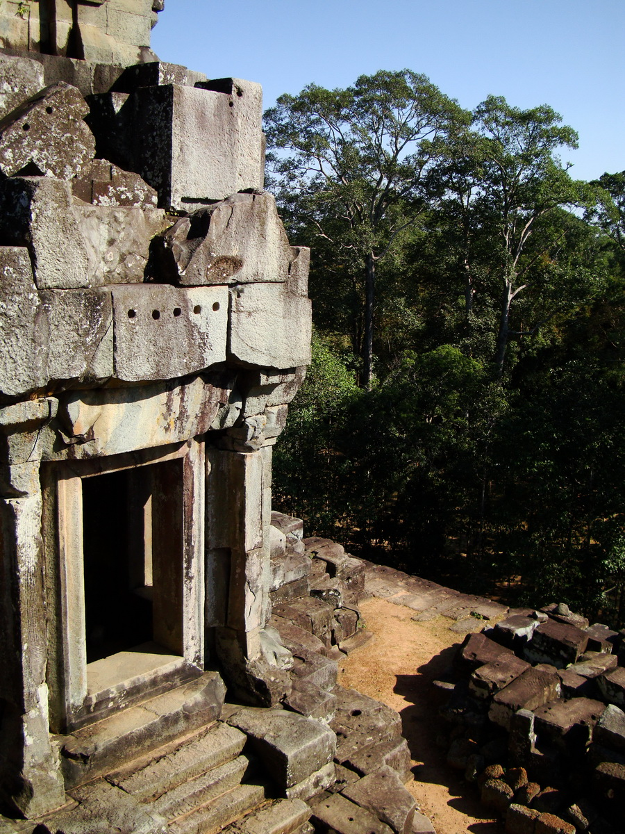 Ta Keo Temple mountain upper terrace facing NE tower Angkor 02