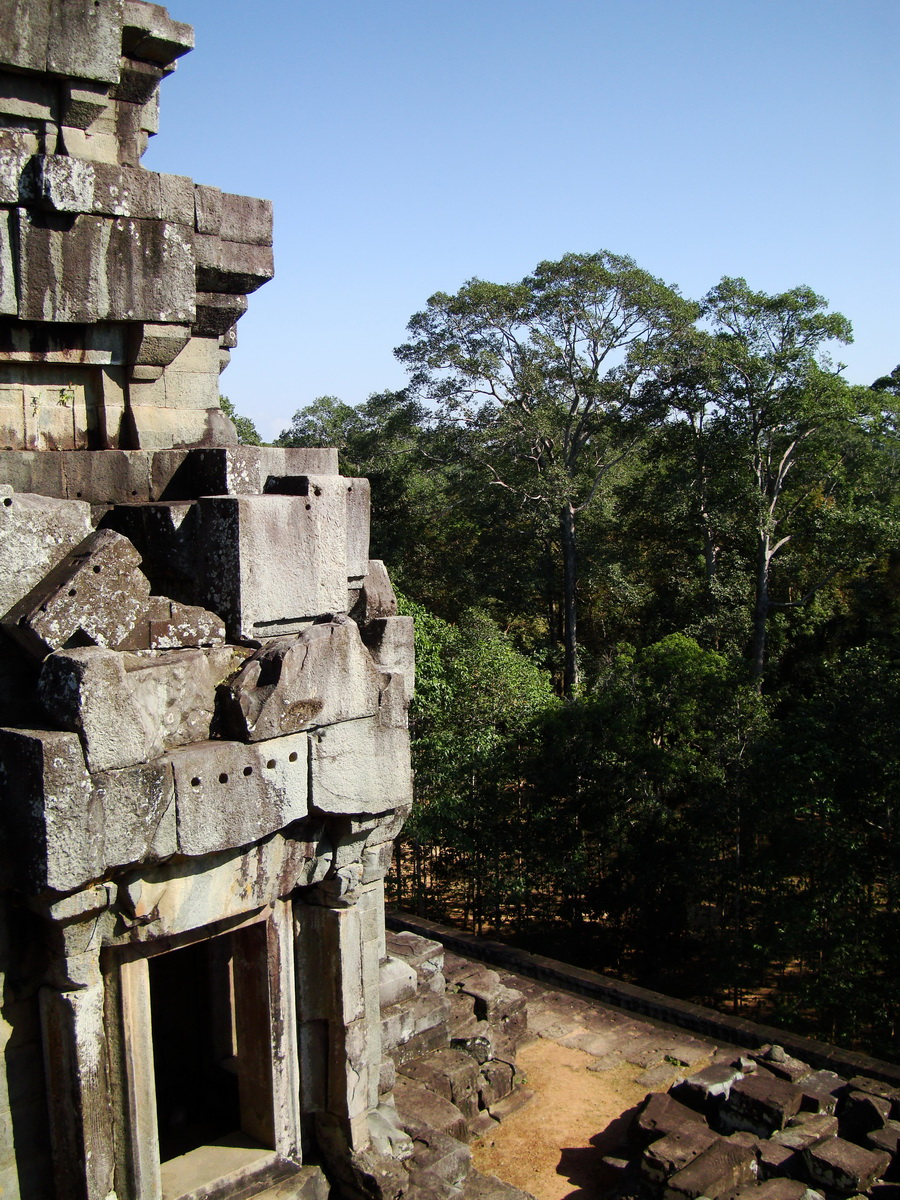 Ta Keo Temple mountain upper terrace facing NE tower Angkor 03