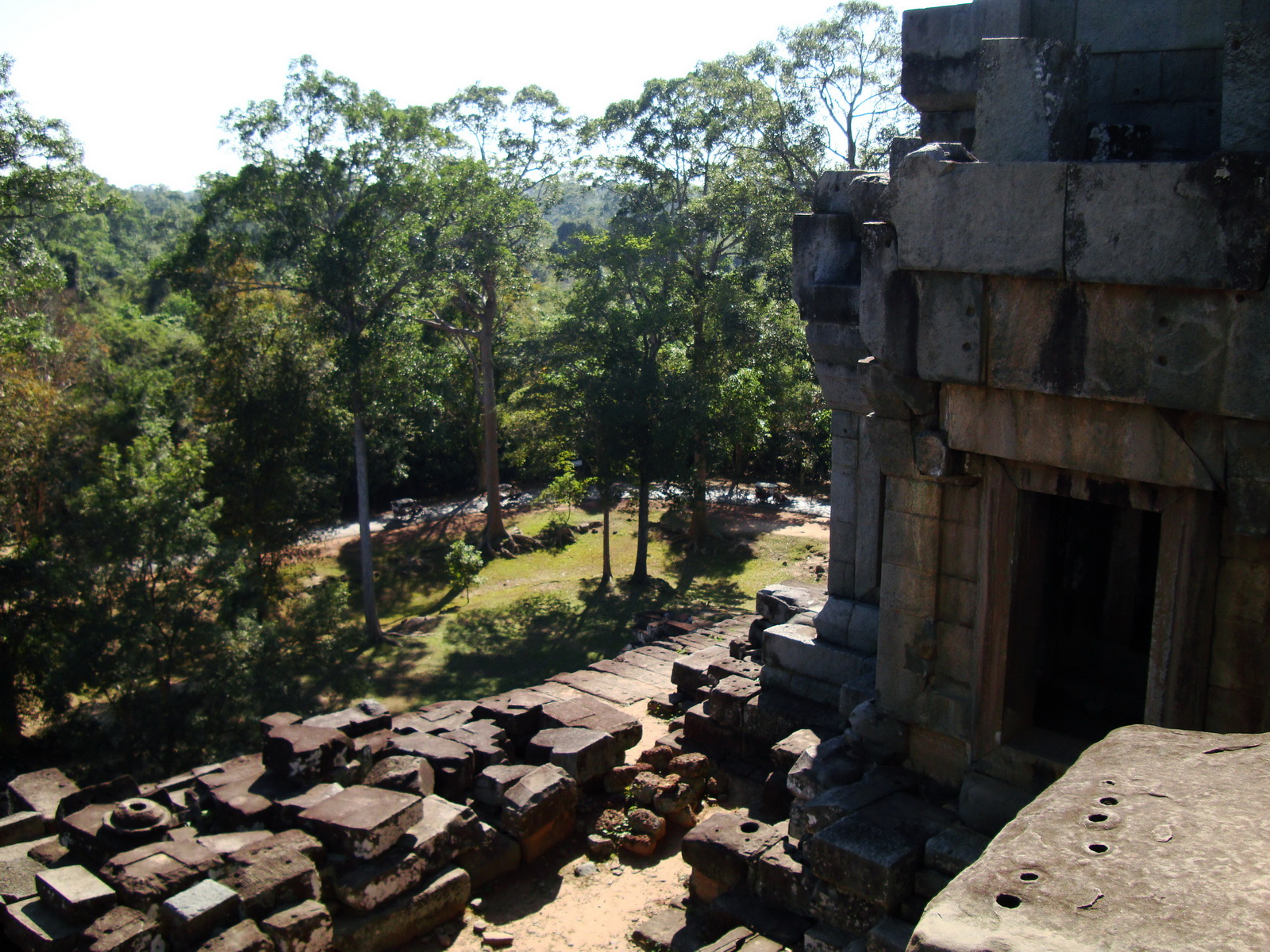 Ta Keo Temple mountain upper terrace facing SW tower Angkor 01
