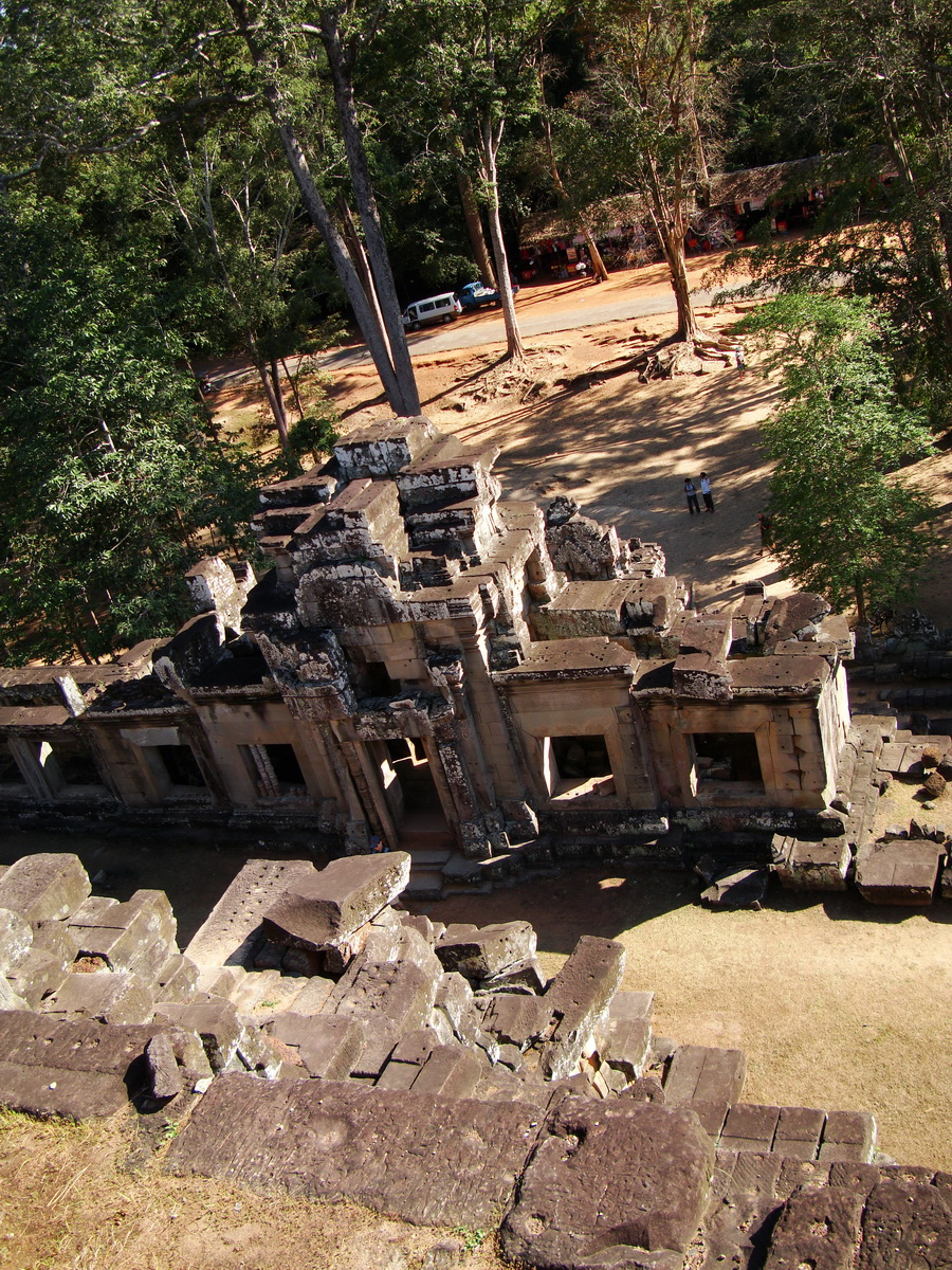 Ta Keo Temple mountain upper terrace facing south Angkor 02