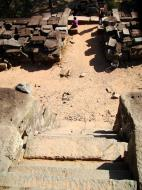 Asisbiz Ta Keo Temple mountain central tower south entrance Angkor 02