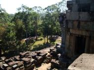 Asisbiz Ta Keo Temple mountain upper terrace facing SW tower Angkor 01
