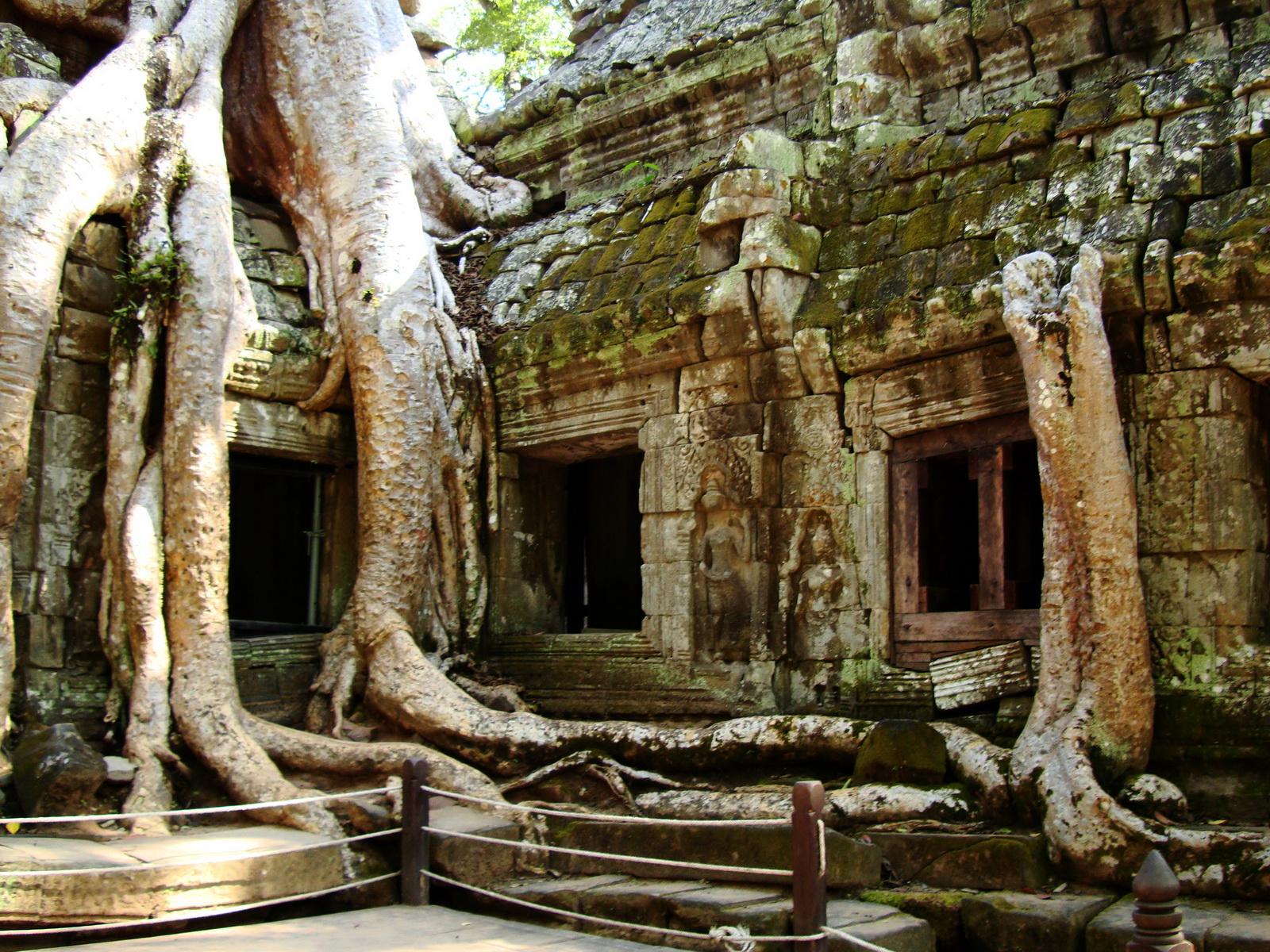 Ta Prohm Temple Rajavihara Tomb Raider NW corner Gopura 4 East 06