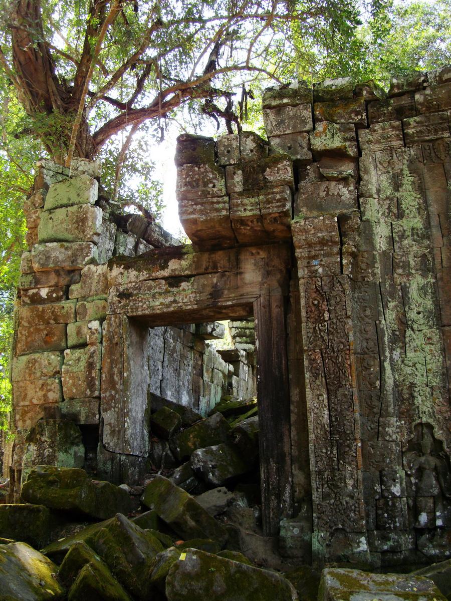 Ta Prohm Temple Rajavihara Tomb Raider third enclosure area 05