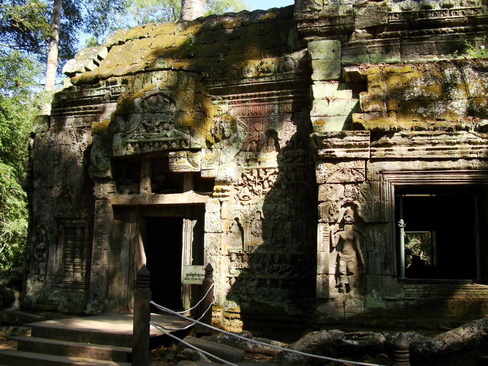 Ta Prohm Temple Rajavihara Tomb Raider third enclosure area 08