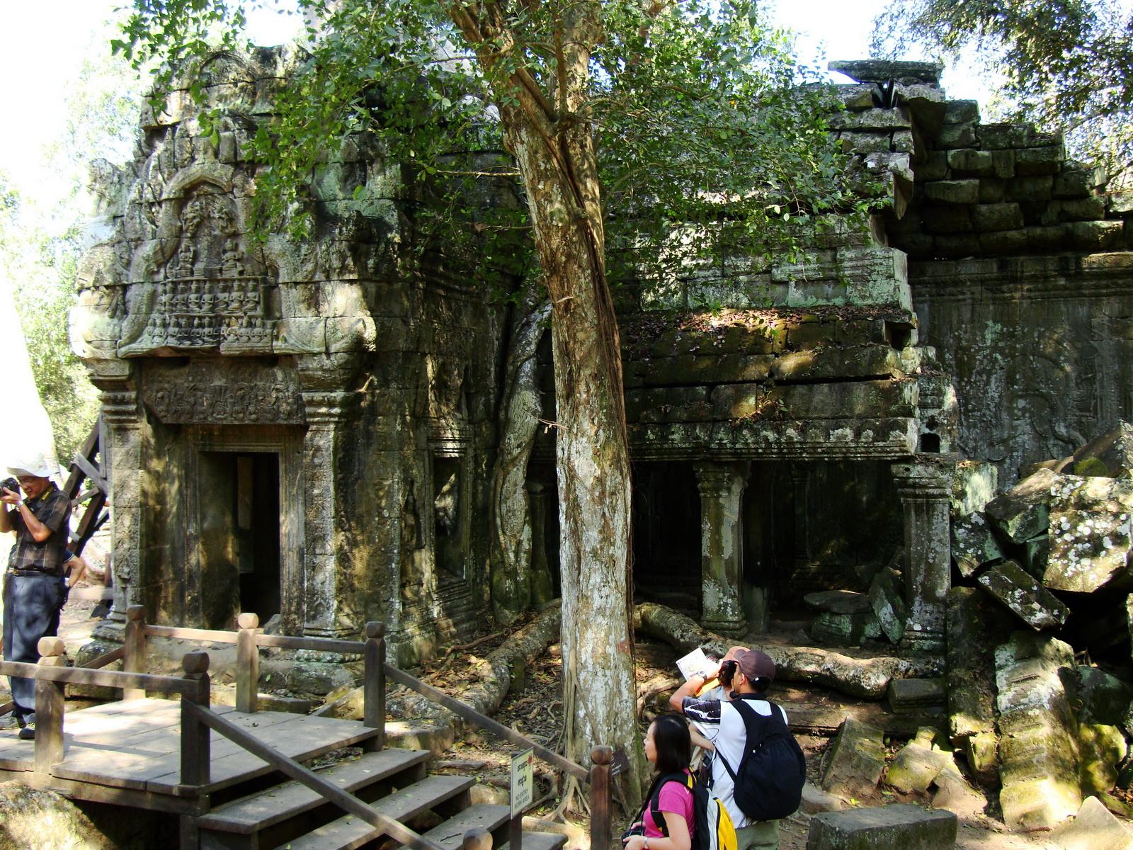 Ta Prohm Temple Rajavihara Tomb Raider third enclosure area 13