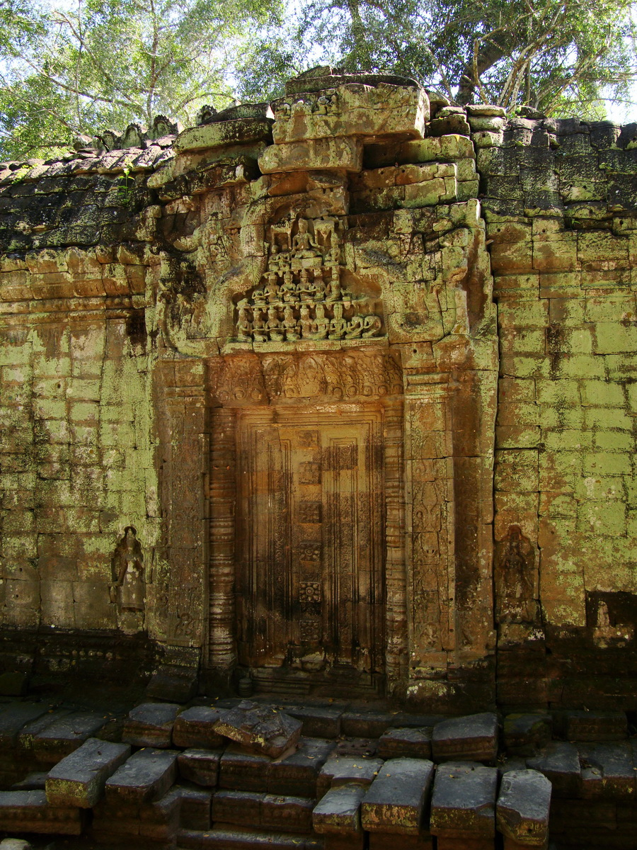 Ta Prohm Temple Rajavihara false door for the spirits 01