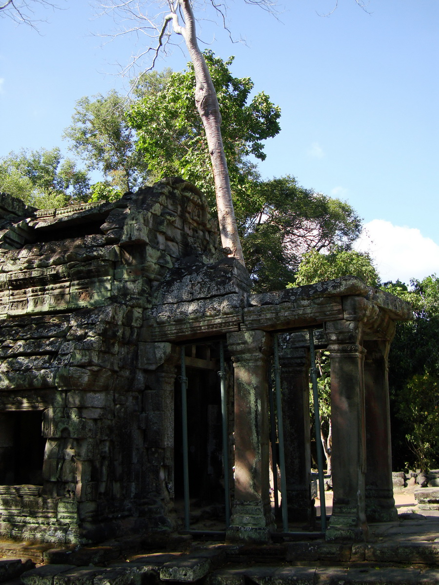 Ta Prohm Tomb Raider Bayon architecture Gopura 4 East entrance 07