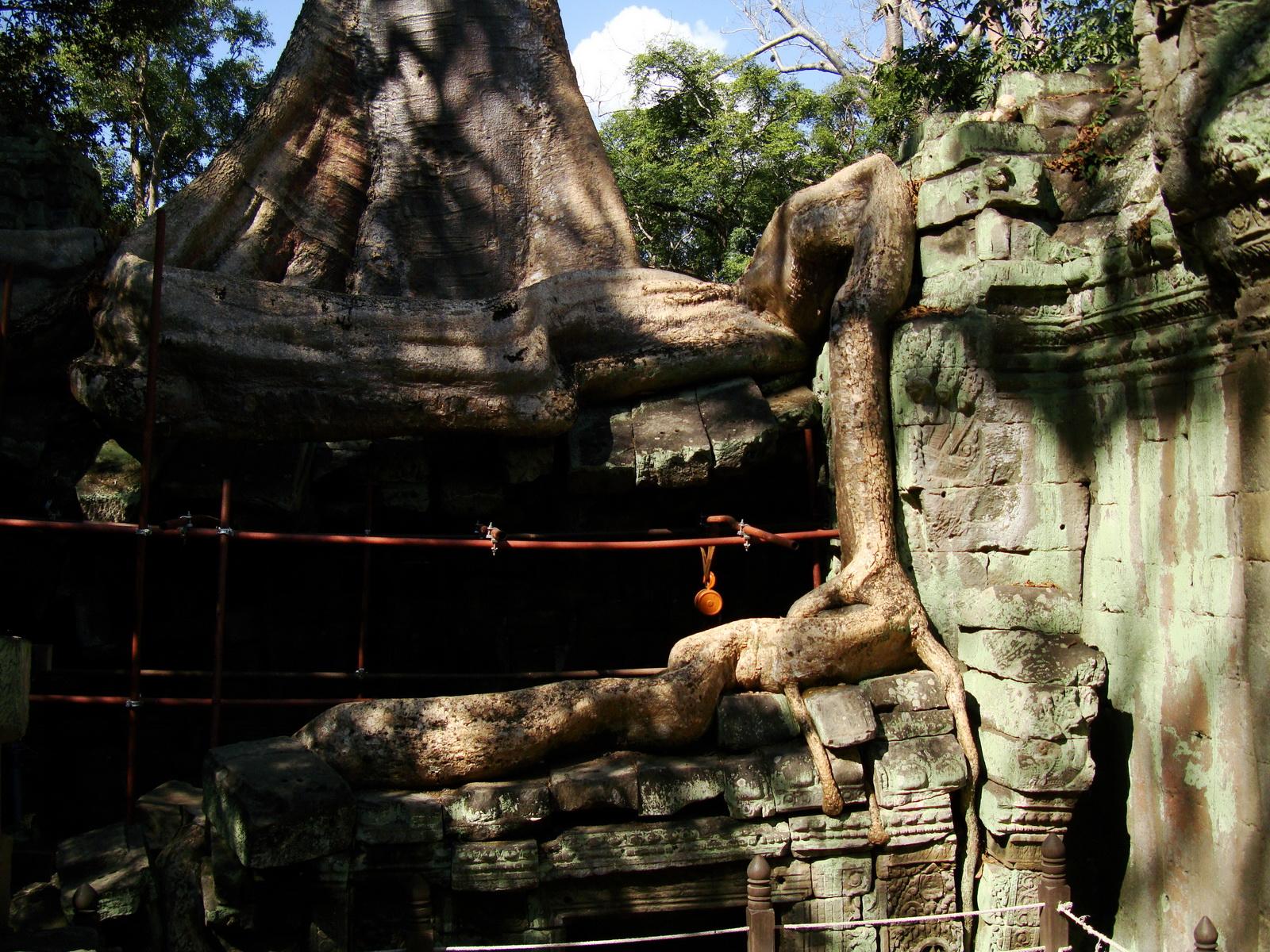 Ta Prohm Tomb Raider Bayon architecture central sanctuary area 15