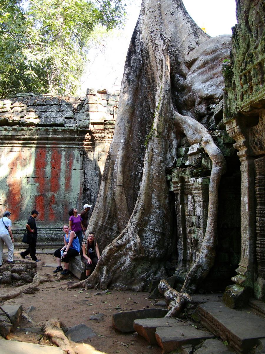 Ta Prohm Tomb Raider Bayon architecture central sanctuary area 24