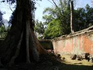 Asisbiz Ta Prohm Temple Rajavihara Tomb Raider inner laterite walls 03
