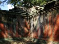 Asisbiz Ta Prohm Temple Rajavihara Tomb Raider inner laterite walls 05