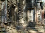 Asisbiz Ta Prohm Tomb Raider Bayon architecture Bas relief devatas 07