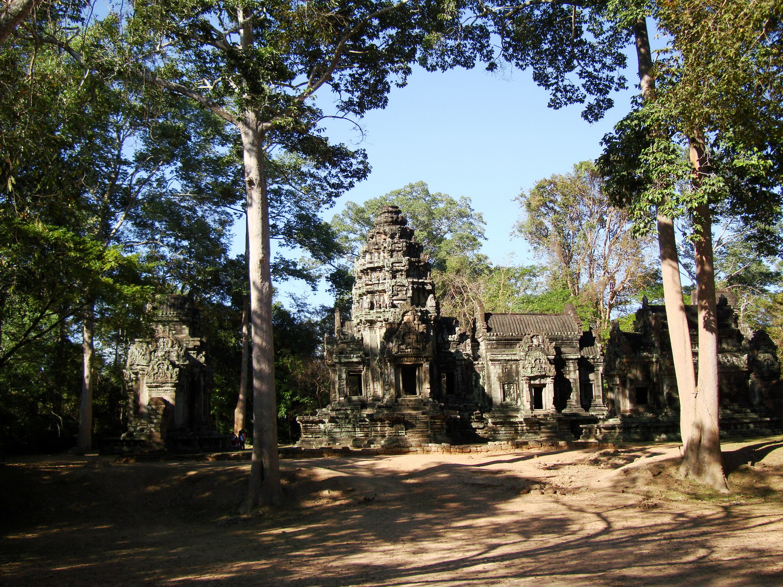 Tamanon Temple Angkor Siem Reap Cambodia Jan 2010 02