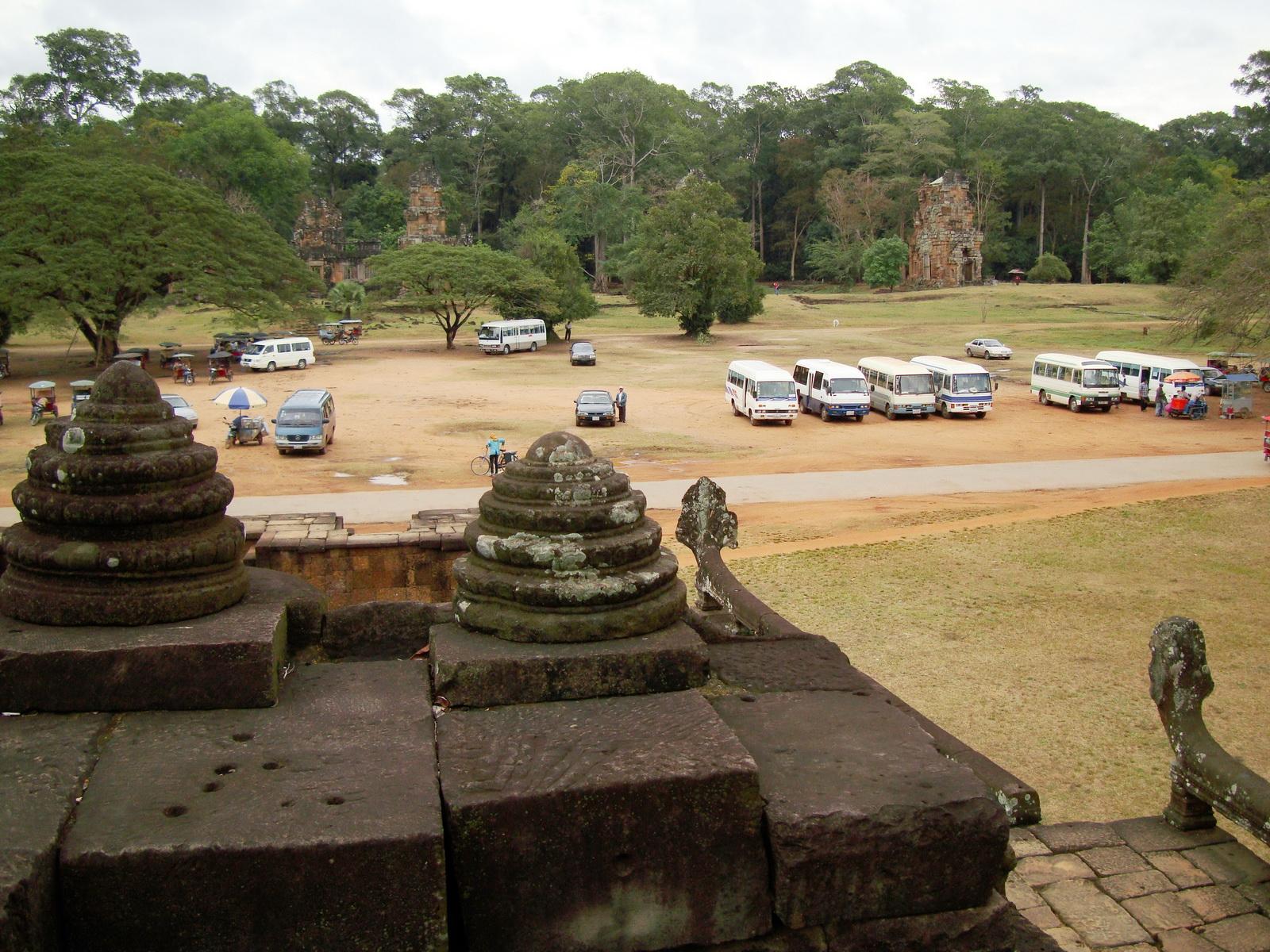 Terrace of the Elephants terrace views Angkor Thom 10