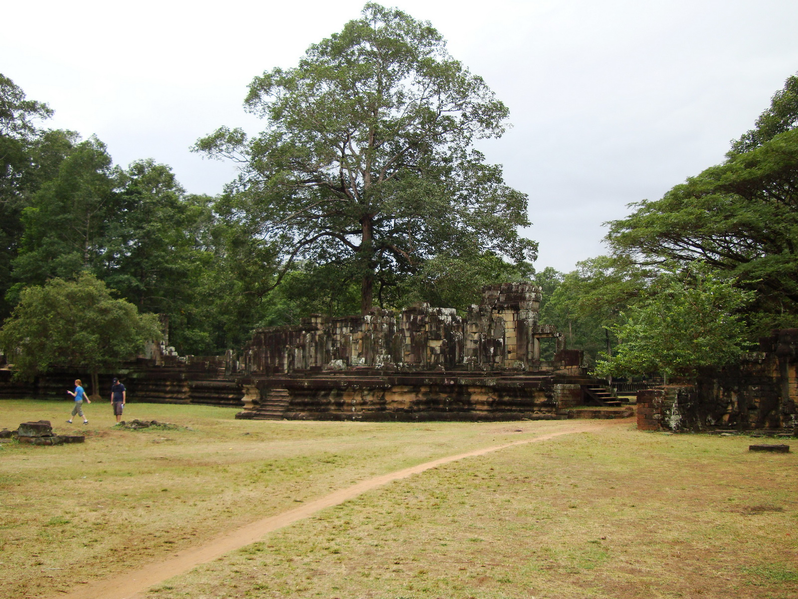 Terrace of the Elephants terrace views Angkor Thom 13