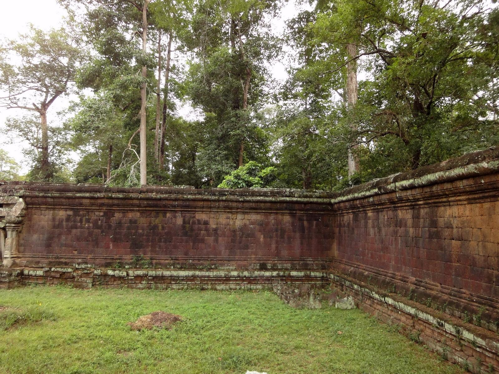 Terrace of the Elephants terrace views Angkor Thom 16