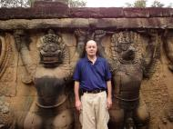 Asisbiz Garuda and Lion Bas reliefs Terrace of the Elephants 16