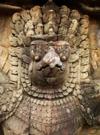 Asisbiz Garuda and Lion Bas reliefs Terrace of the Elephants 25