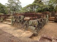 Asisbiz Lion Terrace of the Elephants walled city Angkor Thom 05