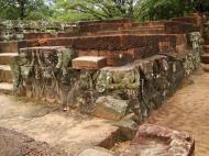 Asisbiz Lion Terrace of the Elephants walled city Angkor Thom 06