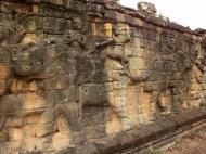 Asisbiz Terrace of the Elephants Bas reliefs hunting scenes 02