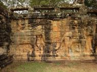 Asisbiz Terrace of the Elephants Bas reliefs hunting scenes 04