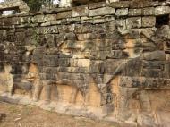 Asisbiz Terrace of the Elephants Bas reliefs hunting scenes 05