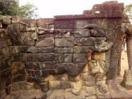 Asisbiz Terrace of the Elephants Bas reliefs hunting scenes 07