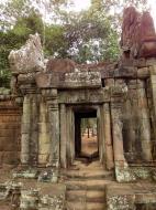 Asisbiz Terrace of the Elephants inner gate Angkor Thom 03