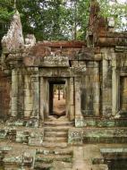 Asisbiz Terrace of the Elephants inner gate Angkor Thom 06