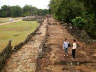 Asisbiz Terrace of the Elephants terrace views Angkor Thom 07