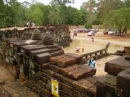 Asisbiz Terrace of the Elephants terrace views Angkor Thom 09