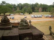 Asisbiz Terrace of the Elephants terrace views Angkor Thom 10