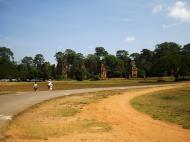 Asisbiz Terrace of the Elephants terrace views Angkor Thom 12