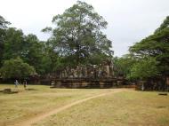 Asisbiz Terrace of the Elephants terrace views Angkor Thom 13