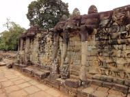 Asisbiz Terrace of the Elephants three elephants 02