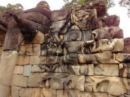 Asisbiz Terrace of the Elephants three elephants 03