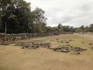 Asisbiz Terrace of the Elephants walled city Angkor Thom 02