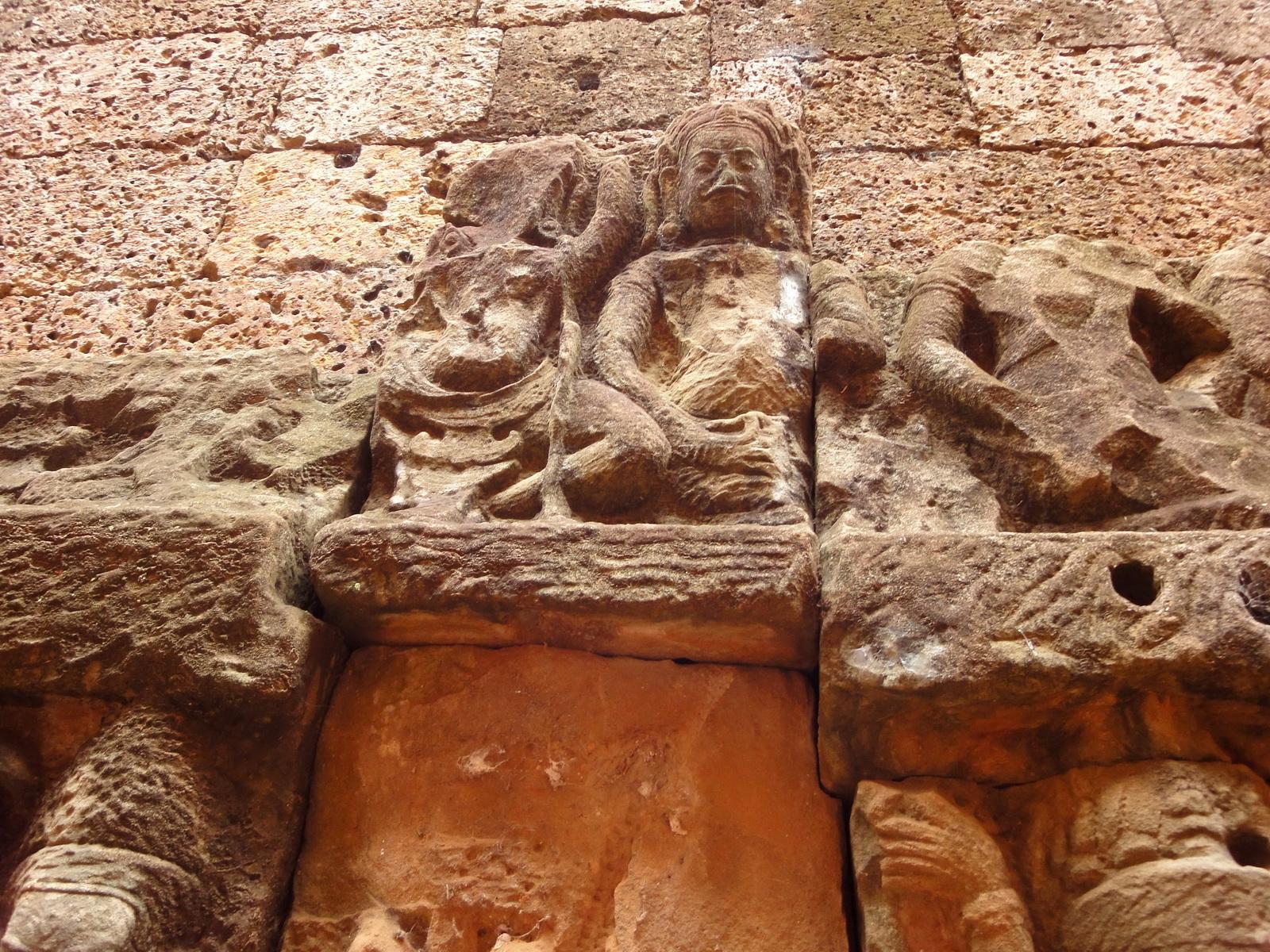 Leper King Terrace hidden wall underworld Nagas and deities 062