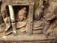 Asisbiz Leper King Terrace hidden wall underworld Nagas and deities 005