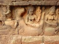 Asisbiz Leper King Terrace hidden wall underworld Nagas and deities 009