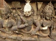 Asisbiz Leper King Terrace hidden wall underworld Nagas and deities 015