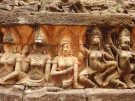 Asisbiz Leper King Terrace hidden wall underworld Nagas and deities 061