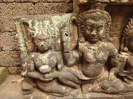 Asisbiz Leper King Terrace hidden wall underworld Nagas and deities 098