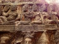 Asisbiz Leper King Terrace hidden wall underworld Nagas and deities 108
