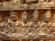 Asisbiz Leper King Terrace hidden wall underworld Nagas and deities 114