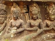 Asisbiz Leper King Terrace hidden wall underworld Nagas and deities 122